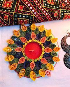 Handmade diyas - Kshiti
