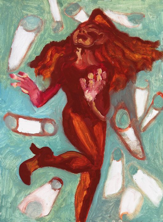 dancing with cigarettes - sipapuni art