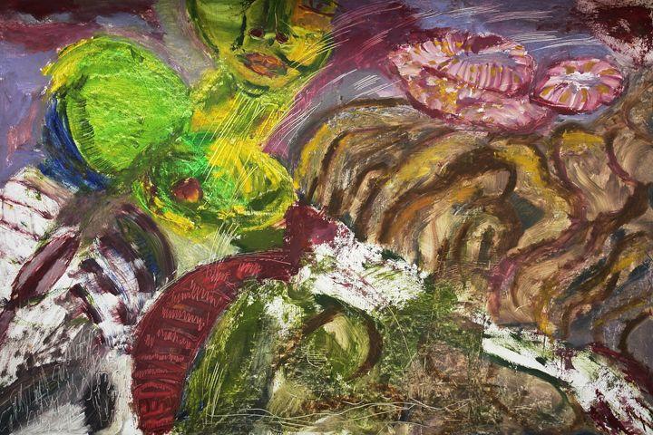 a la Chagalle - sipapuni art