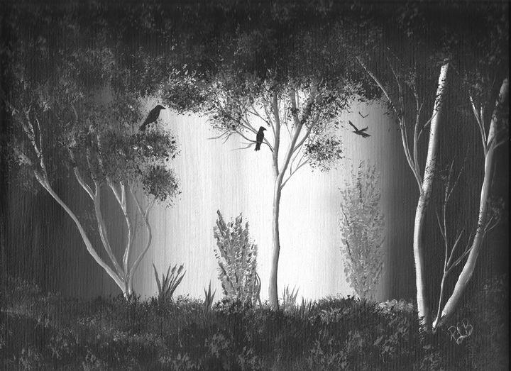 Dark Forest Crow #1 - P. L. Barnhardt