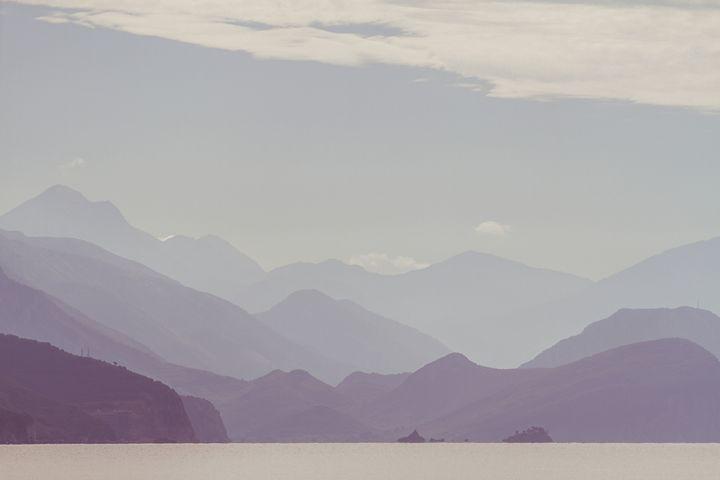 Sea, mountains and clouds. - Tartalja