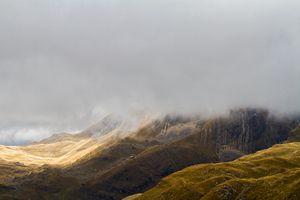 Mountains in autumn.