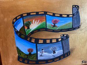 Four seasons film strip
