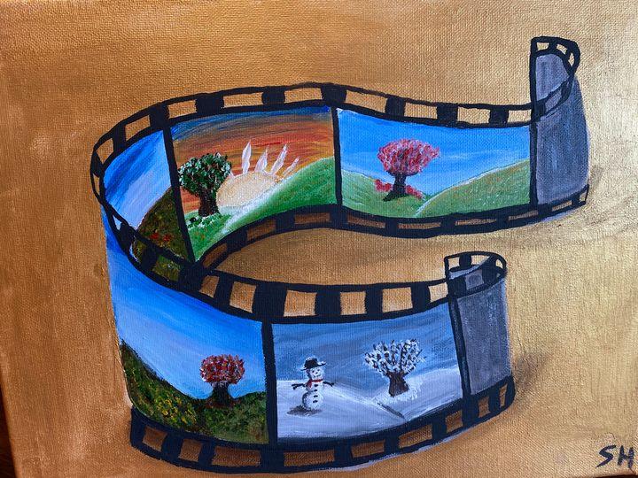 Four seasons film strip - Susanne Hay