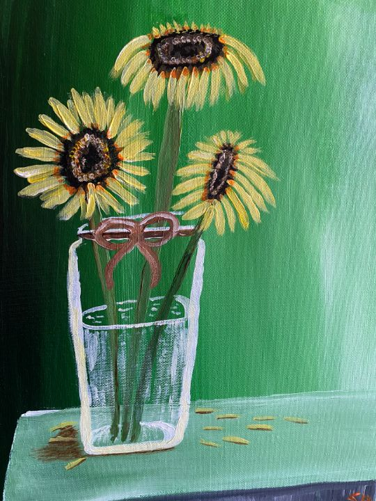 The sunflowers - Susanne Hay