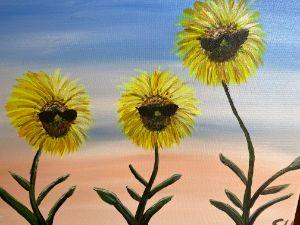 Cool sunflower dudes