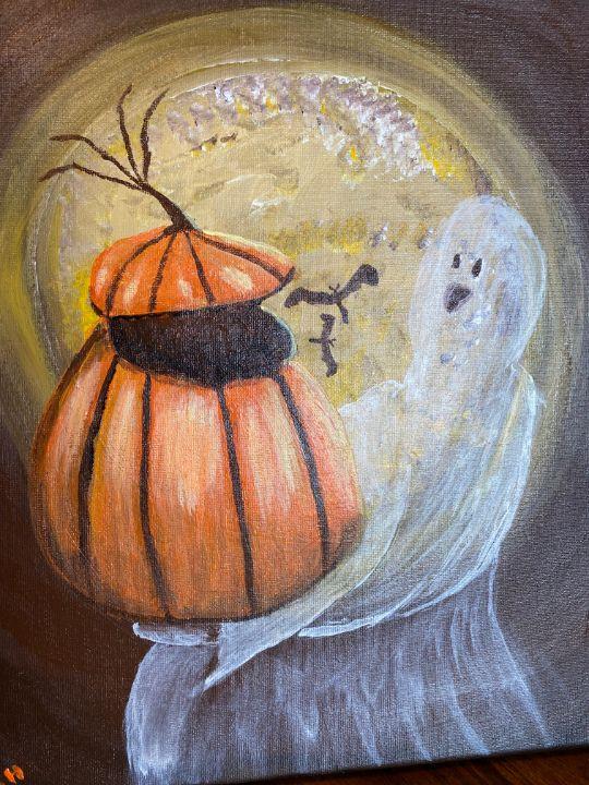 Bats scarring Ghost - Susanne Hay