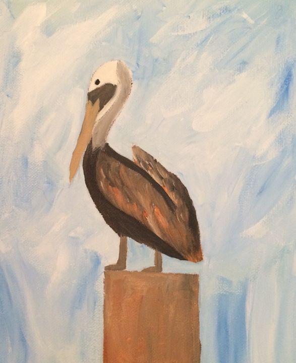 Pelican perch - Jessica Free