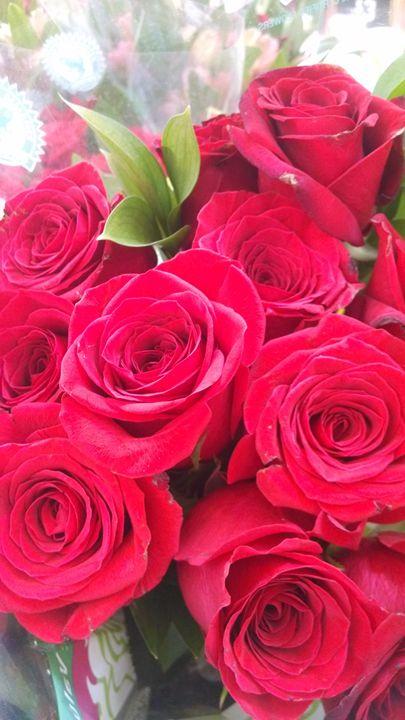 Wilting bouquet - Inkonthepaige