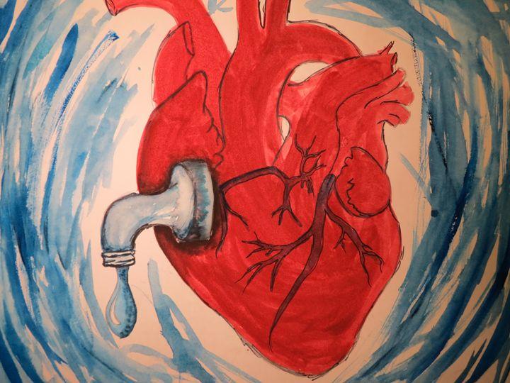faulty heart - Inkonthepaige