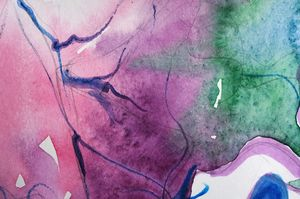 Abstract watercolor fragment 2