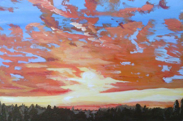 coventrian sunset - 13birds