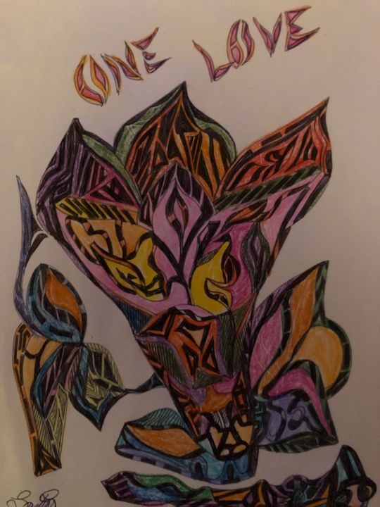 Soul-Expresion - Drawing artist- print