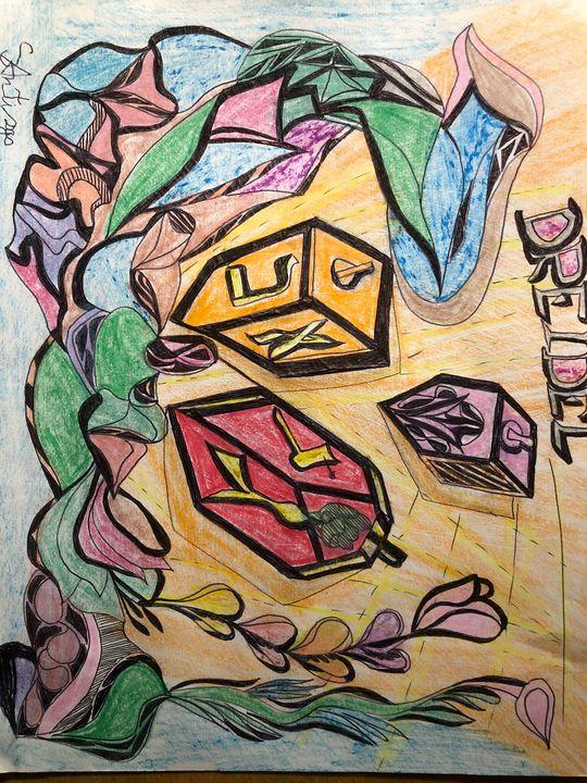 Jewish-art - Drawing artist- print