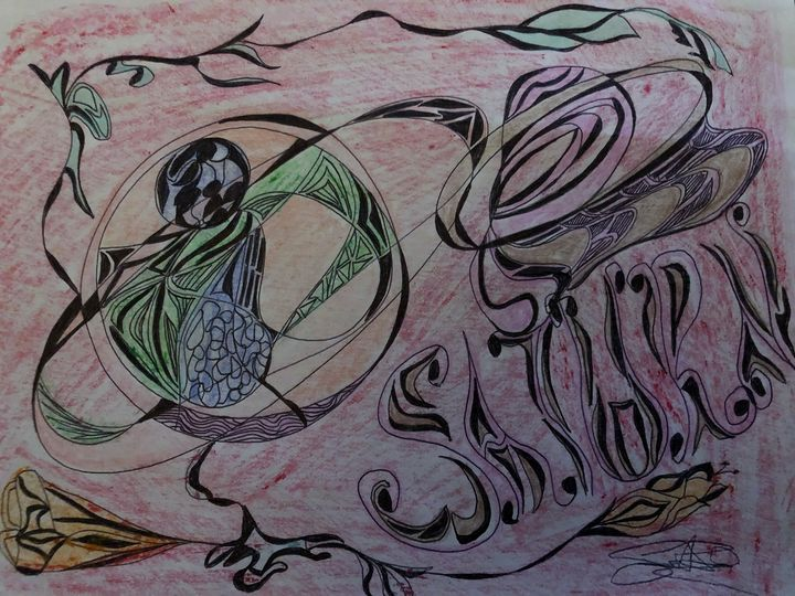 Universe-art - Drawing artist- print
