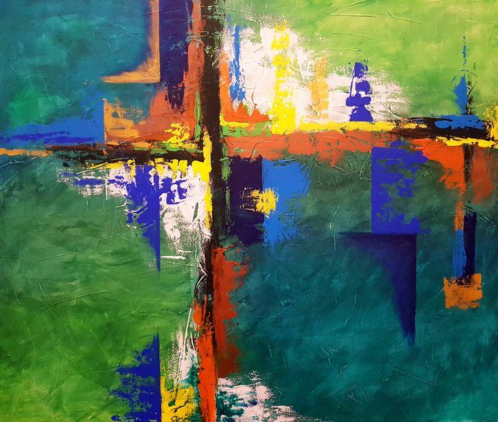 Vivid Spirit! - Joli's Paintings