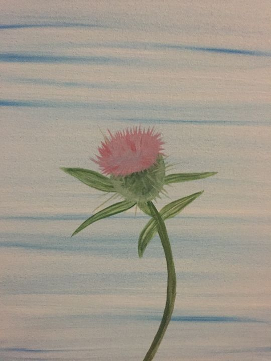 Thistle Flower - MarilynTye