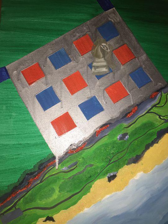 Chess Earthquake - MarilynTye