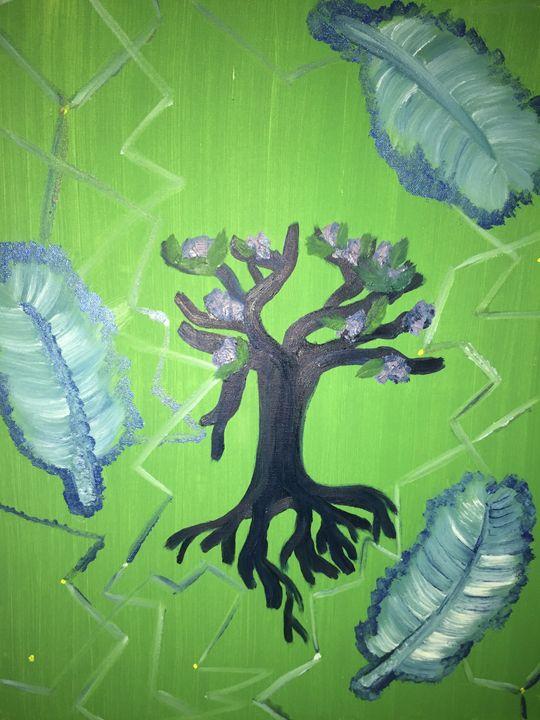 Feathers Tree - MarilynTye