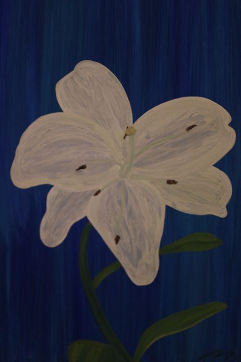 White Flower - MarilynTye