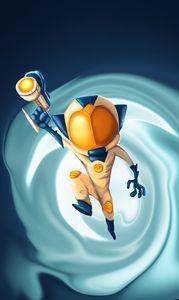Space jump!