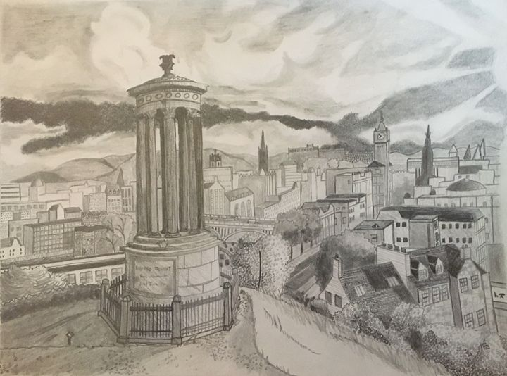Sunshine Over Edinburgh - ShadesOfLiving