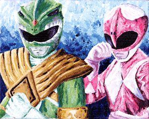 Green & Pink Ranger