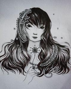 Snow girl