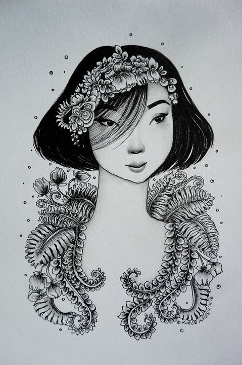 Drawing 20 - Luh De Widiya