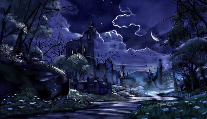 Moonlit Night - The Art of Aung Mikoto Myat