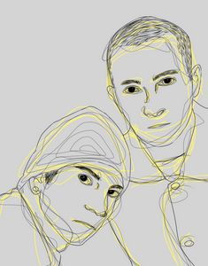Tyler and Josh// print A