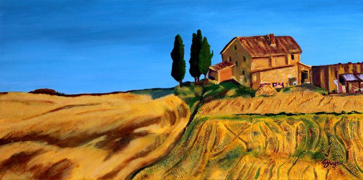 Countryside Landscape - Shreya Rane