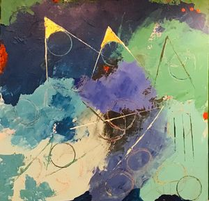 Sing the Blues - Thomas Conrad Abstract Art Gallery