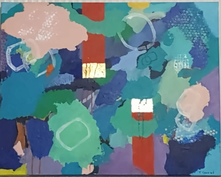 Hope Springs Eternal - Thomas Conrad Abstract Art for the Home and Office