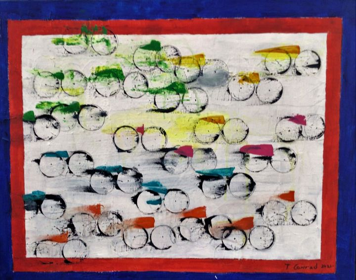 Tour de France #2 - Thomas Conrad Abstract Art for the Home and Office