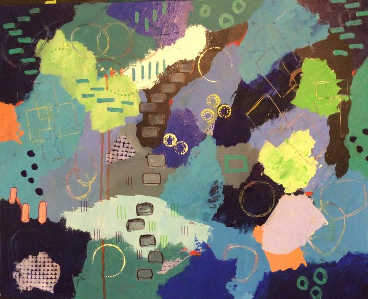 Pathways - Thomas Conrad Abstract Art for the Home and Office