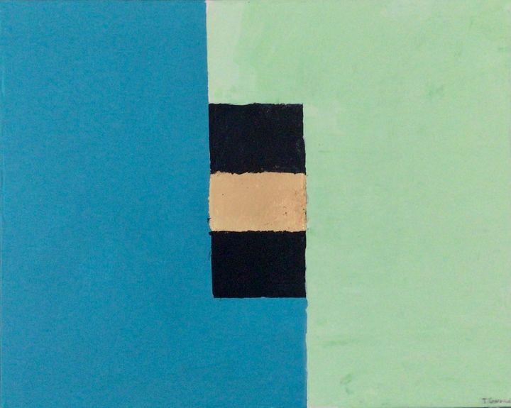 Summer's First Green is Gold - Thomas Conrad Abstract Art for the Home and Office