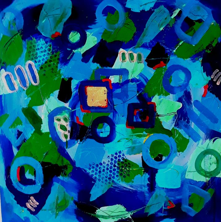 Whirl - Thomas Conrad Abstract Art for the Home and Office