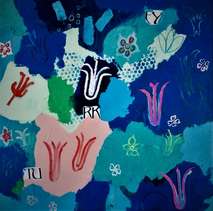 Turkish Garden - Thomas Conrad Abstract Art for the Home and Office