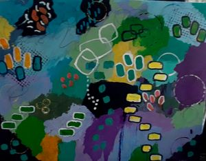 Artist's Garden - Thomas Conrad Abstract Art for the Home and Office