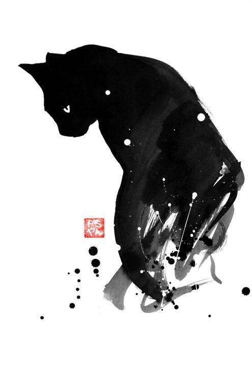 spot cat - pechanesumie