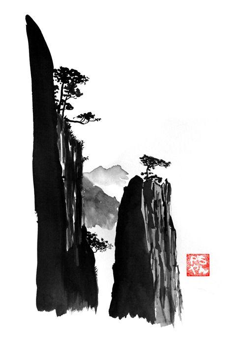 mountain in china - pechanesumie