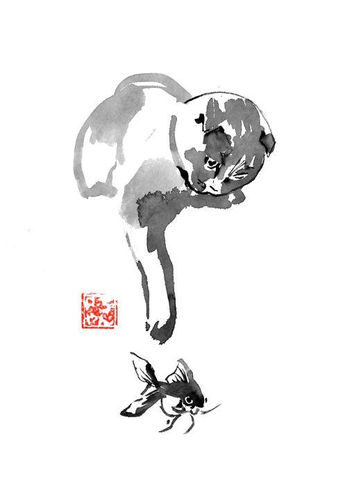 fishing cat - pechanesumie