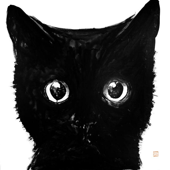 chat noir - pechanesumie