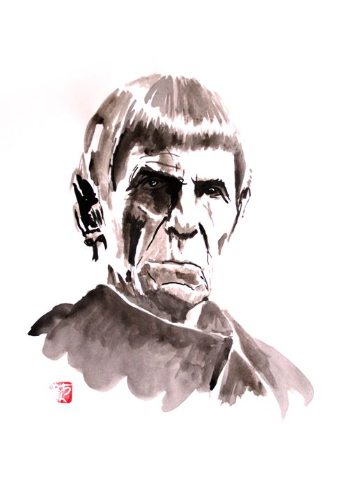 old spock - pechanesumie