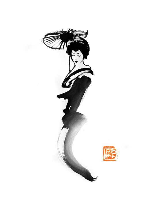 geisha line - pechanesumie