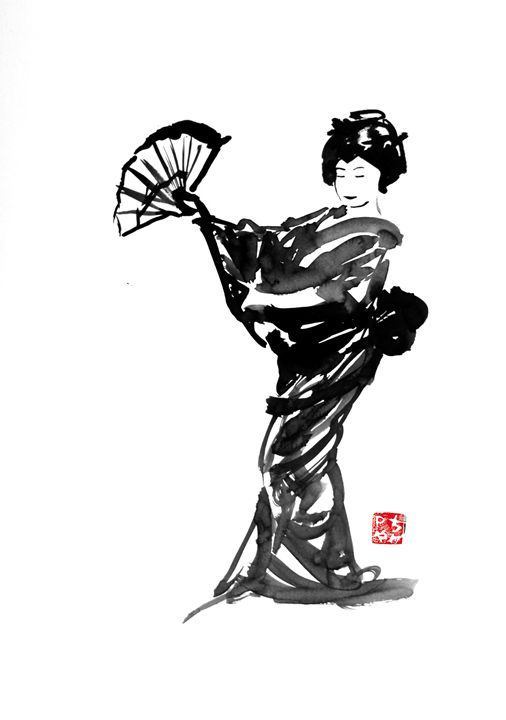 dancing geisha - pechanesumie