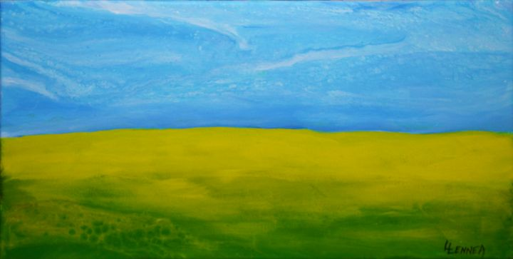 CANOLA  FIELDS  A - LENNEA STUDIO