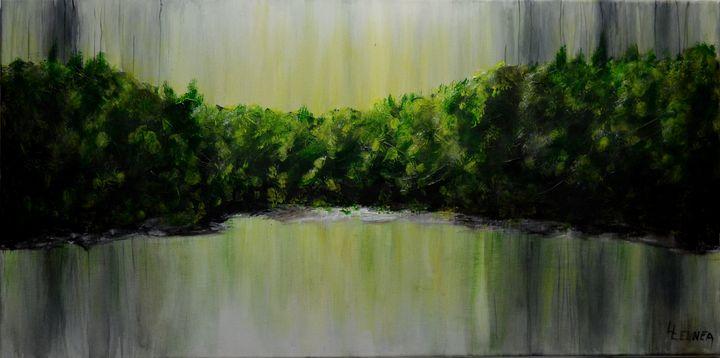 GREEN REFLECTIONS..by..Linda Lennea - LENNEA STUDIO