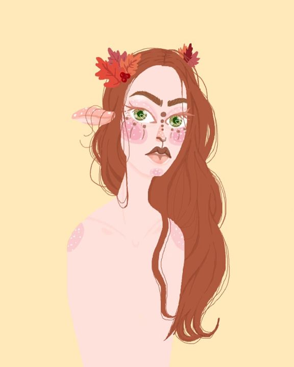 Fawn In The Fall - Madeline Rose
